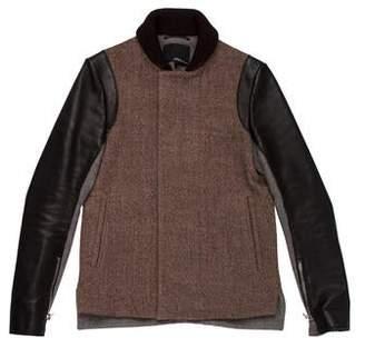3.1 Phillip Lim Wool & Leather Jacket