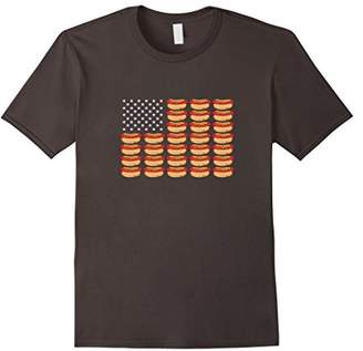 Hot Dog American Flag Patriotic T-Shirt