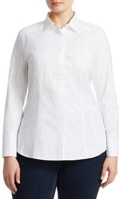 Marina Rinaldi Ashley Graham x Beauty Dress Shirt