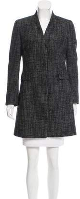 Akris Punto Patterned Wool-Blend Coat