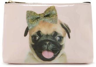 FOREVER 21+ Pug Makeup Bag