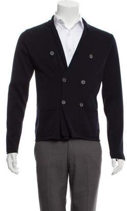 Lanvin Double-Breasted Cardigan navy Double-Breasted Cardigan