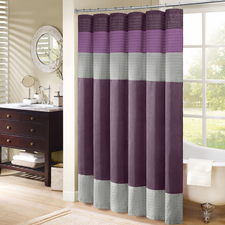 JCPenney Madison Park Florence Pleated Shower Curtain