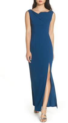 Harlyn Foldover Gown