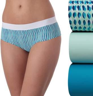 New Balance Women's 3-pack Premium Performance Boyshort Panties NB4056-3