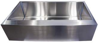 Avesta Single Apron Sink Bowl