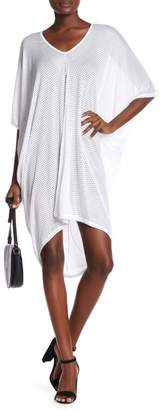 American Twist Perforated Cover-Up Dress