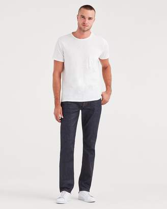 7 For All Mankind Adrien with Clean Pocket and Leather Coin Pocket in Deep Wax