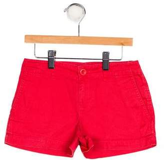 Ralph Lauren Girls' Four Pocket Mini Shorts