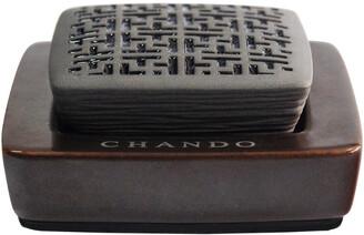 Chando Urban Collection 0.17Oz Golden Amber Porcelain Aroma Diffuser