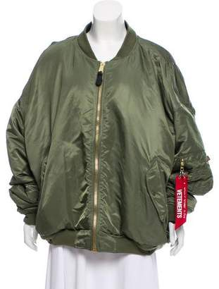 Vetements x Alpha Industries Reversible Bomber Jacket
