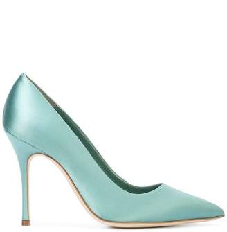 Manolo Blahnik pointed toe pumps