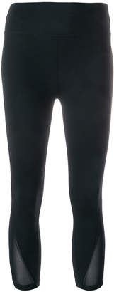 DKNY cropped track trousers