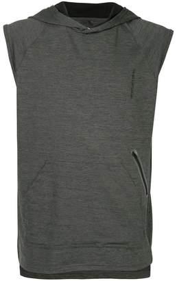 The Upside sleeveless hoodie