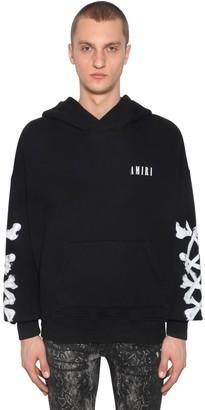 Amiri Bones Printed Jersey Sweatshirt Hoodie