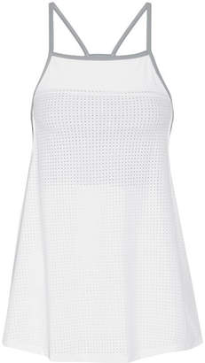 LNDR - Zone Mesh And Stretch-knit Tank - White