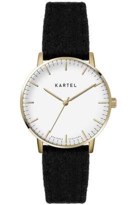 Ladies Kartel Scotland Lewis 34mm Cashmere Watch KT-LEW34-GWB