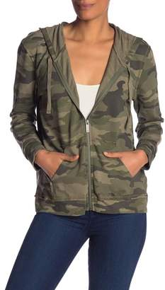 Vince Camuto Avenue Camo Zip-Up Jacket