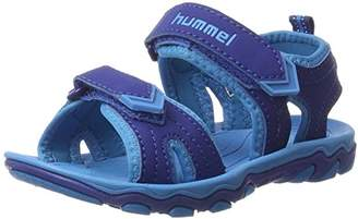 Hummel Sandal Sport Jr, Boys' Ankle Strap Sandals,(35 EU)