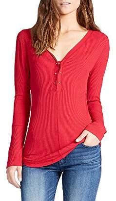 William Rast Women's Gordon Avant Long Sleeve Knit Top