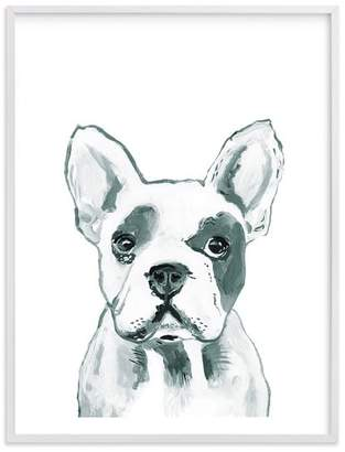 Pottery Barn Teen Hey Mr. Dog, Wall Art by Minted®, 30 x 40, White