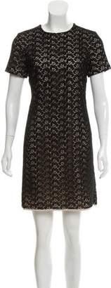 Diane von Furstenberg Cindy Acorn Short Sleeve Dress