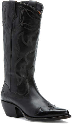 Frye Shane Embroidered Tall Leather Boot