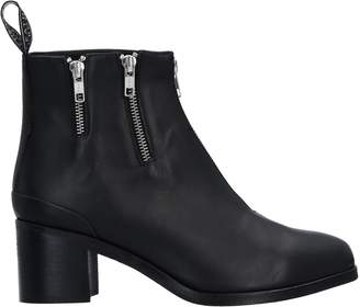 Leather Crown Ankle boots - Item 11526624FM