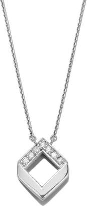 JOLLY BIJOU - Chevron Diamond Necklace White Gold