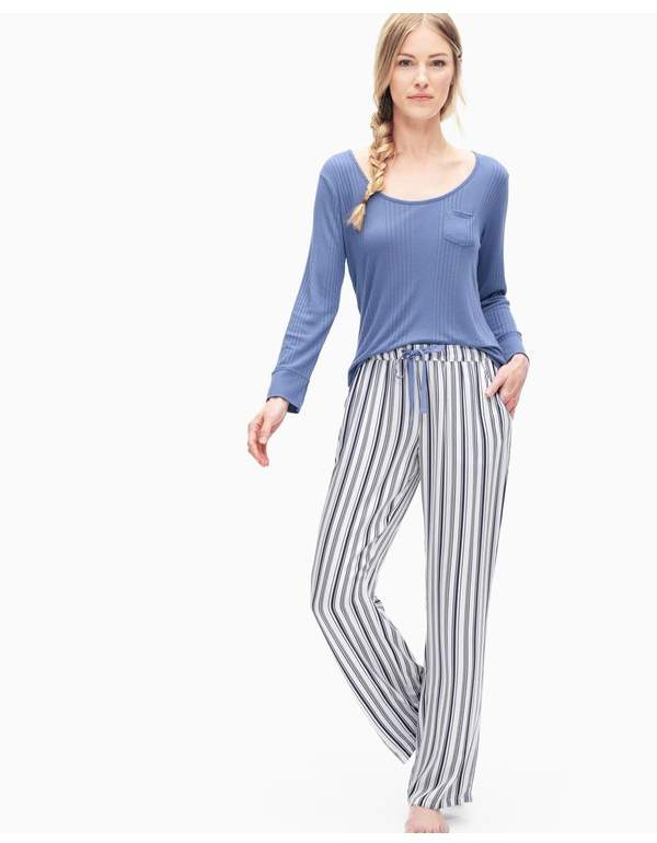 Buy | Striped Pj Pant | Size Xl | Calming stripe!