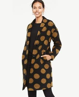 Ann Taylor Polka Dot Coat