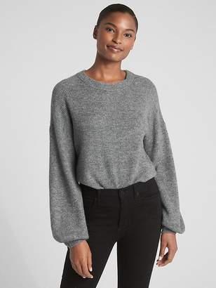Gap Blouson Sleeve Pullover Sweater