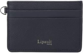 Lipault Paris Plume Elegance Leather Card Holder Credit card Wallet
