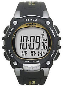 Timex Men's Ironman 100-Lap FLIX System Watch