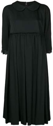 Comme des Garcons flared pleated dress