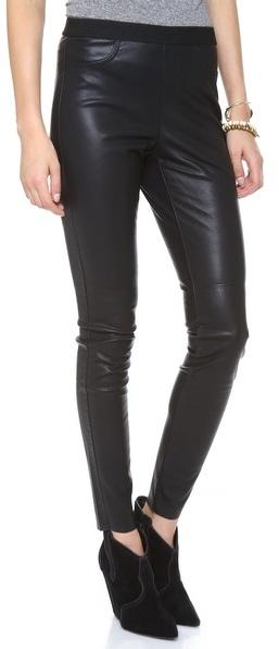 Katrine Faux Leather Pants