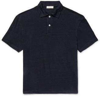 Sandro Linen Polo Shirt