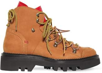DSQUARED2 50mm Nubuck Hiking Boots