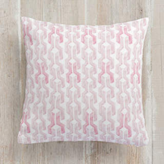 Watercolored Links Square Pillow