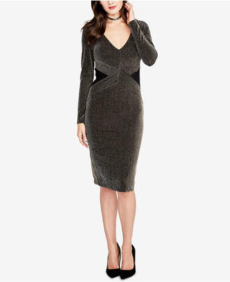Rachel Roy Sparkle-Stripe Dress