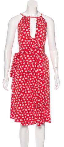 Marc by Marc Jacobs Sleeveless Floral Print Dress