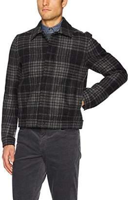 Vince Men's Plaid Trucker Jacket