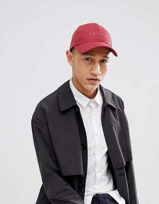 Esprit Baseball Cap In Burgundy