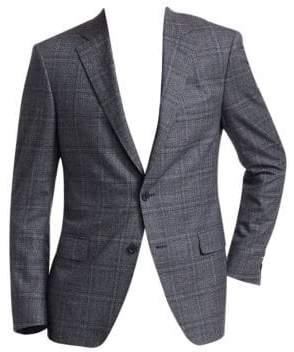 Saks Fifth Avenue COLLECTION Glen Check Suit