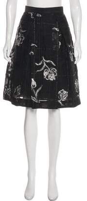 Prabal Gurung A-Line Knee-Length Skirt