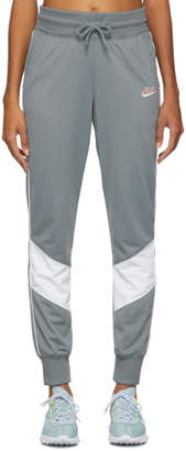 Nike Grey Windrunner Jogger Lounge Pants