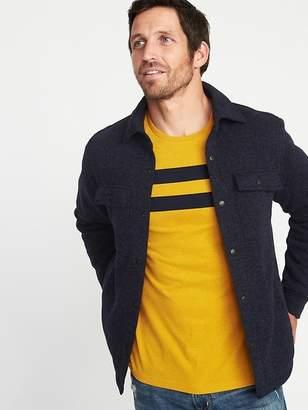 Old Navy Fleece-Knit Shirt Jacket for Men