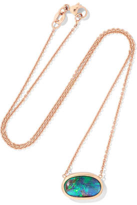 Kimberly McDonald - 18-karat Rose Gold Opal Necklace