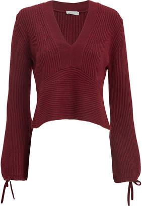 A.L.C. Schwartz Merlot Sweater