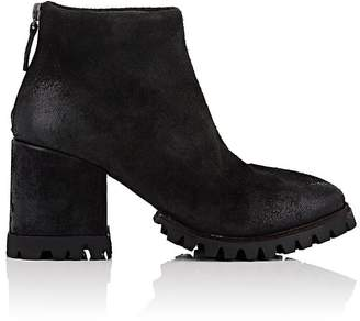 Marsèll Women's Lug-Sole Distressed Suede Ankle Boots